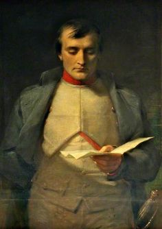 Napoleon I (1769–1821), Reading His Letter of Abdication