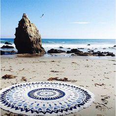 La serviette de plage ronde The beach People
