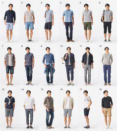 Mens Minimalist Fashion - My Minimalist Living Minimalist Wardrobe Men, Minimalist Fashion, Casual Outfits, Men Casual, Fashion Outfits, Outfits For Teens, Japan Fashion, Mens Fashion, Muji Style
