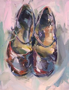 Dancing Shoes, Oil,