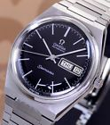 OMEGA SEAMASTER AUTOMATIC DAY&DATE CAL 1022 BLACK DIAL DRESS MEN'S WATCH