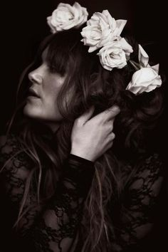 Julia Stone by Jennifer Stenglein Photography Angus & Julia Stone, Corona Floral, Stone Roses, Portraits, Gal Pal, Natural Face, Wedding Beauty, Bride Hairstyles, Flower Crown