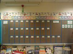 Chalk board word wall
