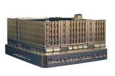 Hess's Department Store miniature building from the replica buildings website.