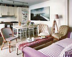 Small apartment in Madrid. Source: ESTILO RUSTICO: CASA RUSTICA ECLECTICA