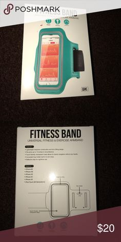 Teal Fitness Band Never been opened! gems Accessories Phone Cases