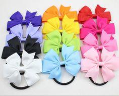 Fita de cabelo com elástico para meninas e mulheres de cabelo acessórios arco elástico laço de cabelo faixa de cabelo corda