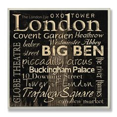 City Signs Plaques Set Of 4 Rome London Paris New York Rustic Cottage Farmhouse Hand Painted Wooden U Pick Colors Pinterest Living Rooms Room And