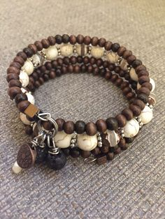 A personal favorite from my Etsy shop https://www.etsy.com/listing/601639061/diffuser-wire-wrap-bracelet-in-brown