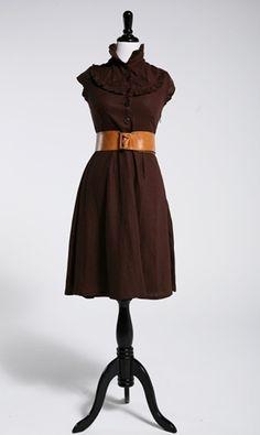 gorgeous brown dress (Shabby Apple)