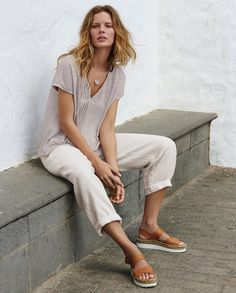 Poetry Fashion - Linen trousers