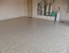 Saddle Tan Garage Flooring
