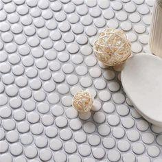 19mm Crystal Glazed Urban Penny Round Tile CZO920Y #tiles #mosaic #mosaicart #walltiles #ihavethisthingwithfloors #ihavethingsforwalls #homeimprovement #homedecor #homedesigns #interiordesign #interiordecor #interiorinspirations #roomdecor #bathroomdecor #livingroomdecor #kitchendesign #backsplash #walldecor #designsponge #tileinspiration #tilepic #tileaddiction #mozaik #mozaic #floortile #floorplan #renovation #pennyroundtiles