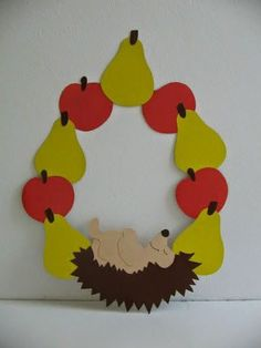 Hedgehog crafts and activities for children Paper Plate Crafts For Kids, Easy Crafts For Kids, Art For Kids, Diy And Crafts, Arts And Crafts, Paper Crafts, Autumn Crafts, Autumn Art, Thanksgiving Crafts