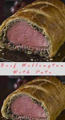 Classic Beef Wellington With Pate Recipe Beef Wellington With Pate, Beef Wellington Recipe, Wellington Food, Meatloaf Recipes, Beef Recipes, Vegetarian Recipes, Cooking Recipes, Healthy Recipes, Delicious Recipes