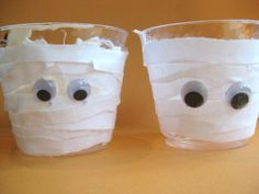 Homemade Halloween Decorations - Halloween Mummy Treat Cups childparenting.about.com490 × 368Search by image Homemade Halloween Decorations - Halloween Mummy Treat Cups