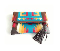 Handmade Pendleton wool Clutch laptop/MacBook Pro case by aquabomb, $80.00