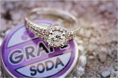 Up-Inspired Engagement Session by Katherine Salvatori Photography  THAT RING <3