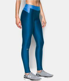Women's UA HeatGear® Armour Legging, HERON