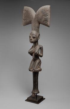 Yoruba Ose Sango (Shango Staff), Nigeria http://www.imodara.com/post/89796059509/nigeria-yoruba-ose-sango-sango-staff