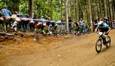 No disrespect, Lopes, but kiss our asses. Jeep Air Downhill. Photo by Pat Hui.