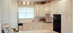 The Cabinet Shop - Custom White Wood Kitchen