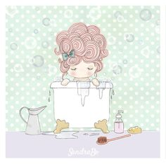 Hoy 𝗗𝗶𝗮𝗱𝗮 𝗱𝗲 𝗦𝗮𝗻𝘁 𝗝𝗼𝗿𝗱𝗶 quiero compartiros otra de mis ilustraciones ✏️ ... Dulce tomando un bañito de burbujas 🤍  #dulcedenube #sandrabo #tesoretes #ilustracion #madebarcelona #mamisdulce #dulcedenubeworld #princess #doll #kidstoys #muñecadetrapo #regalospersonalizados #handmade #hechoamano #puppe #barcelona #handcrafted #dollmaker #clothdoll #makermovement #ooakdoll #bebe #boniteces #mamasyprincesas #princesa #fetama #regalonacimiento #regalosespeciales #regalobautizo Barcelona, Special Gifts, Personalized Gifts, Bubbles, Clouds, Princess, Hand Made, Barcelona Spain