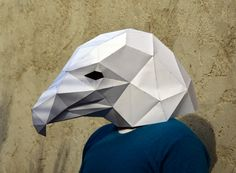 Make Your Own American Bald Eagle. PaperCraft by PlainPapyrus