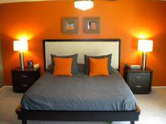 Image Result For Orange Purple Grey Bedroom