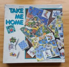 """Discovery Toys """"Take Me Home"""" game"""