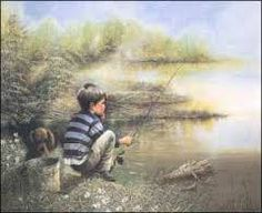 This picture reminds me of riding my bicycle to Rosette and fishing. Australian Boys, Boy Fishing, My Youth, Couple Photos, Prints, Pictures, Painting, Paper, Coupon Spreadsheet