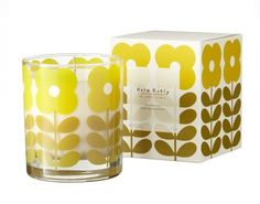 Primrose and Bergamot Scented Candle