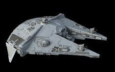 Star Wars concept ship models by our friend Ansel Hsiao.