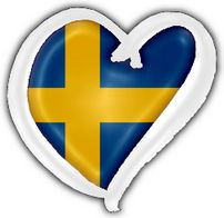 Sweden! Our big brother that we love to hate. They always send pretty much the same song. Sometimes they hit the bulls-eye, but in recent years they most often miss. Alas. I'd love to see them win again. :-)