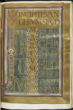 Been Around the World: Exhibition Loans in 2014 Medieval Manuscript, Medieval Art, Carolingian, British Library, Craft Projects, Germany, Around The Worlds, Creative, Books