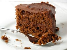 Old Fashioned Chocolate Layer Cake with Sour Cream Chocolate Frosting | Feastie