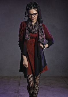 """Doesn't this Cosima getup give you life? 