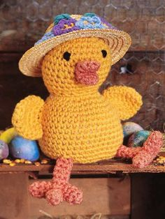 Easter Bonnet Chick