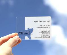 crystal transparent #businesscard 15 mil - http://www.bce-online.com/en/