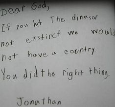 """You go, God!"" 