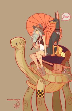 ArtStation - Turtle Express, Jessica Madorran>> I absolutely love her work