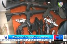 Incautan Arsenal De Armas