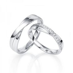 matching wedding bands for him and her | Home > Special Collections > couple rings > Round Diamond Couples ...