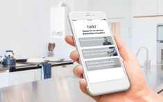 L'application tado° vous trouve un chauffagiste ! Technology Updates, New Technology, European Investment Bank, Ac Company, Cover, German, Blog, Quote, Iphone