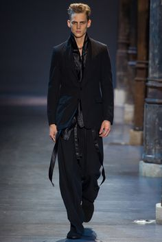 Ann Demeulemeester | Spring 2013 Menswear Collection | Style.com