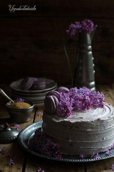un pedacito de cielo: Tarta de chocolate blanco y arándanos