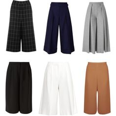 Trends 2015 culottes by annabell-127 on Polyvore featuring STELLA McCARTNEY, Warehouse, Miss Selfridge, Acne Studios and Rejina Pyo