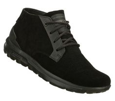 9ad262e773b SKECHERS Mens Skechers On The Go Chukka Lace-up Boots - Black - 13