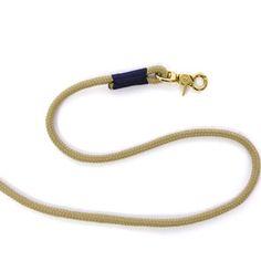 TAU STIL - Leine aus Tau (8mm) - natur.nachtblau - Messing Messing, Cord, Pendant Necklace, Inspiration, Jewelry, Fashion, Dog Leash, Nature, Biblical Inspiration