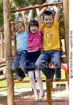 by MaszaS (children on a playground)